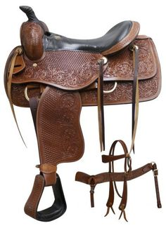 Model# Seat: 16 Top Grain Bars: *Full Quarter Horse Swell: Gullet: Horn: Cantle: Skirts: x Stirrups: to Leather Adjustment **additional holes can be added to stirrup leathers** Tree: Wood Tree Fiberglass Covered Weight: 23 lbs. Western Horse Saddles, Western Tack, Western Riding, Westerns, Stirrup Leathers, Trail Saddle, Headstall, My Horse, Horse Riding
