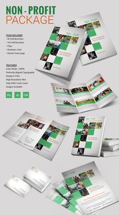 non profit brochure templates free