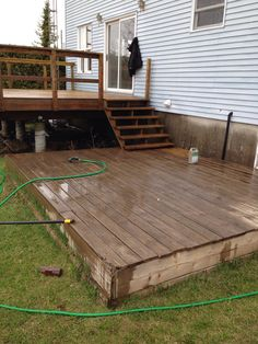 #deck #restoration   The Lower Deck Needed To Be Done Too. Not As