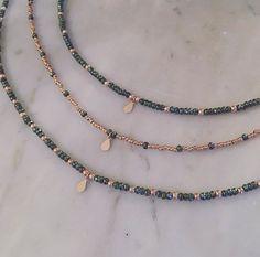 Items similar to Tiny Beads Ch Seed Bead Jewelry, Bead Jewellery, Cute Jewelry, Beaded Jewelry, Jewelery, Jewelry Accessories, Jewelry Necklaces, Jewelry Design, Beaded Bracelets