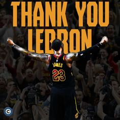 There are just not enough words to say what you have done for the city of Cleveland. Thank you for everything we love you and we will miss you dearly. This isnt goodbye just until we see you back in a jersey. All hail the almighty King King Lebron James, King James, Cleveland Cavs, Cleveland Rocks, Basketball Pictures, Atlanta Falcons, Los Angeles Lakers, Basketball Players, Wnba