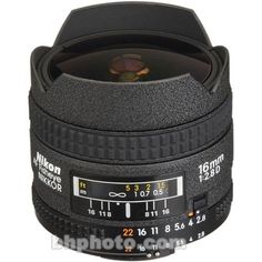 Introducing Nikon AF FX FisheyeNIKKOR 16mm f28D Fixed Zoom Lens with Auto Focus for Nikon DSLR Cameras International Version No warranty. Great Product and follow us to get more updates!