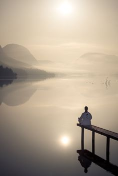 Meditation is a glorious link to connect and harmonize the two ends of life - material and spiritual.
