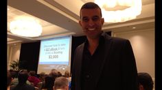 About to jump onstage and reveal how to create and sell higher priced point products and services...