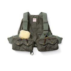 Foul Weather Fly Fishing Vest - Otter Green - Regular