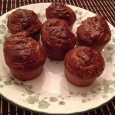 If you love Reese's peanut butter cups, you will love these muffins. A perfect combination of chocolate and peanut butter and it's actually good for you!