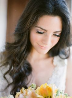 Love the eye makeup.  Jose Villa | Fine Art Weddings