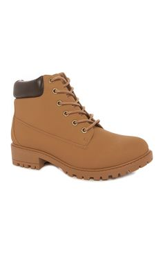 Primark - Tan Padded Chunky Sole Boot