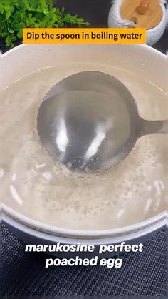 Fun Baking Recipes, Brunch Recipes, Breakfast Recipes, Cooking Recipes, Breakfast Bites, Tapas, Poached Eggs, I Love Food, Food Hacks