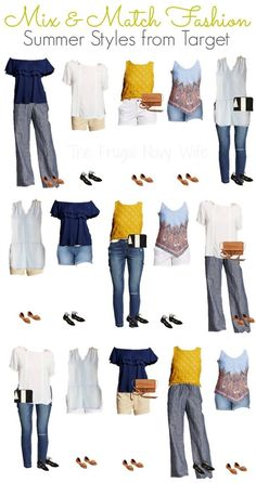 I am slightly addicted to Target summer clothes! These Mix & Match Target Womens Clothes for Summer are my newest addiction!