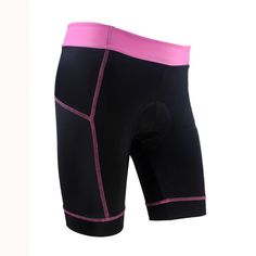 2016 XINZECHEN Women Pro Cycling Shorts Bike shorts  Black Pink Cycling clothing Team bicycle short sleeve wear mtb bottom | #CLOTHINGANDAPPARELS #SHORTS