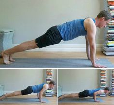 Chaturanga Dandasana Transition