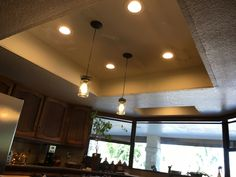 AZ Recessed Lighting offers professional LED recessed lighting and LED can light services in Peoria, AZ. Pot Lights, Kitchen Recessed Lighting, Kitchen Stuff, Kitchen Ideas, Kitchen Design, Light Installation, Vanity Lighting, Home And Living