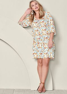 Be the best dressed this season! Venus plus size eyelet dress ...