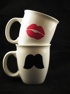 Cute. :o)  $18 http://www.etsy.com/listing/85765111/hot-pink-lips-and-black-mustache-mug-set?ref=sr_gallery_27&ga_search_submit=&ga_search_query=mustache+mug+set&ga_view_type=gallery&ga_ship_to=US&ga_ref=related&ga_page=1&ga_search_type=handmade&ga_facet=handmade&favorite_listing_id=85765111&show_panel=true
