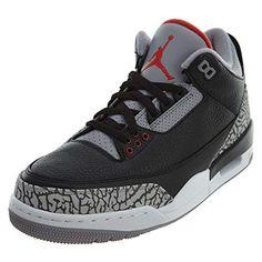 more photos 1ad98 dcab5 Men s Air Jordan 3 Retro OG Black Cement 8 US