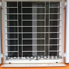 Home Window Grill Design, Modern Window Design, Iron Window Grill, Window Grill Design Modern, Grill Gate Design, House Window Design, Balcony Grill Design, Iron Gate Design, House Gate Design
