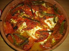 Taste of Life: Φέτα με ντομάτα στο φούρνο