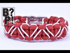 """How to Make the """"Slithering Snake"""" Paracord Survival Bracelet - BoredParacord - YouTube"""