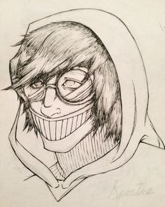 Ticci Toby is one of my favourite Creepypasta character :3