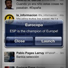 Spain is the champion of Europe!
