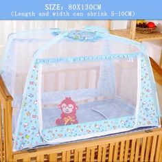 เก็บเงินปลายทาง  0-6 years old 130CMX80CM Portable Baby mosquito cove With zipperFoldable Baby bed anti-mosquito cover 0-6 years old 130CMX80CM -intl  ราคาเพียง  2,015 บาท  เท่านั้น คุณสมบัติ มีดังนี้ Material: polyester + glass fiber bracket Size:100CM X 80CM X 80CM(length*Width*Height) Applicable to0-6 years old of the baby Can be easily folded to carry