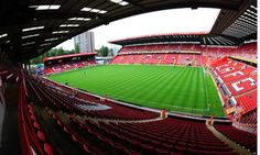 The Valley - Charlton Athletic FC Stadium in London Charlton Athletic Football Club, Charlton Athletic Fc, Soccer Stadium, Football Stadiums, Football Team, Middlesbrough Fc, All Over The World, Around The Worlds, London Attractions