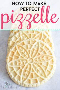 italian cookies Pizzelle Cookies are thin, crisp, aromatic waffle-shaped cookies which are an Italian tradition. Italian Cookie Recipes, Italian Cookies, Italian Desserts, Italian Christmas Cookies, Pizzelle Cookies, Waffle Cookies, Pizelle Recipe, Pizzelle Recipe Vanilla, Crack Crackers