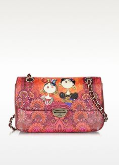 813ecdad4628 Moschino Printed Saffiano Eco Leather Shoulder Bag  250.00 Actual  transaction amount