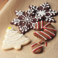 ... Cookies! on Pinterest | Sugar Cookie Icing, Crescents and Cookies
