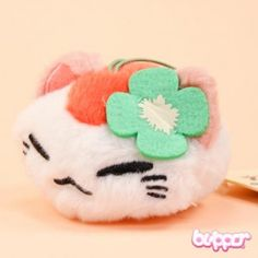 Nemuneko Mini Plush - White - Other Products | Blippo.com - Japan & Kawaii Shop