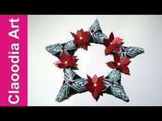 Bilderrahmen aus Papier Röllchen - YouTube