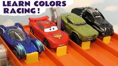 Learn Colors racing with Cars Lightning McQueen and Hot Wheels Superhero colored cars in Color Team Racing. This is the first of our learn colours toy storie. Learning Colors, Fun Learning, Cars 3 Characters, Disney Cars Toys, Color Race, Learning Numbers, Lightning Mcqueen, Car Videos, Hot Wheels