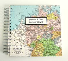 German Travel Journal / Trip to Germany on Etsy, $40.00