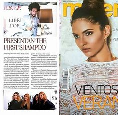 Sweet Hair El Salvador 😍 The First, o primeiro shampoo que alisa no mundo, na mídia internacional. #sweet #hair #professional #thefirstsweethair #thefirst