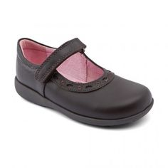 Our fitted black school shoes for girls are durable, affordable and stylish, available in various sizes and widths for comfort and support when your kids need it most Black School Shoes, Leather School Shoes, Balerina, Childrens Shoes, Boys Shoes, Brown Leather, Footwear, Scissors, Stylish