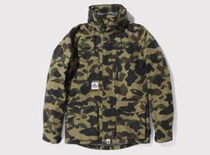 Bape camo goretex jacket. For those who like keeping warm to the tune of way too much money.