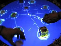 Almost as complex as a traditional music instrument, the reactable has a tangible, visually compelling and intuitive user interface, which makes music visible and… Multi Touch, Interactive Design, User Interface, Music Instruments, Traditional, Digital, Table, Amazing Things, Tech