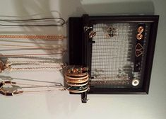 Jewelry Organizer Hanging Jewelry Box Pinterest Hanging