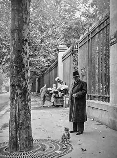 Paris 1950s Photo: Izraëlis Bidermanas
