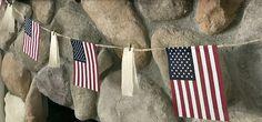 DIY American flag banner tutorial