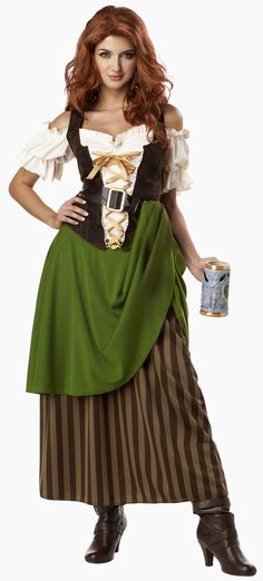 Tavern Maiden Adult #Pirate #Costume