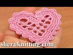Flower 3D Five Folded Petals Crochet Tutorial 63 Part 1 of 2 Crochet Petals Made of Complex Stitches - YouTube