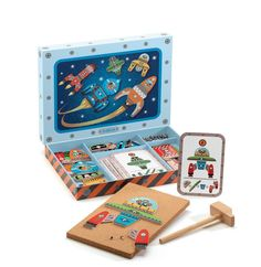 Product Djeco ~ Tap Tap ~ SpaceProduct code DJ6642Age: 4 yrs+