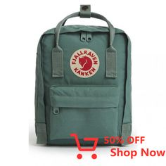Shop for Fjallraven Kanken Mini Classic Backpack. Get free delivery On EVERYTHING* Overstock - Your Online Outdoors Destination! Small Backpack, Mini Backpack, Laptop Backpack, Kanken Backpack, Everyday Bag, Boards, Classic, Stuff To Buy, School Pack