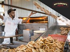 If bagel tossing was an Olympic sport we've got the winning team. Breakfast Catering, Lunch Catering, Ottawa Food, Lunches And Dinners, Bagel, Montreal, Ontario, Foodies, Yummy Food