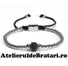 Bratara barbati cu Argint 925 cu 1 tub negru cu cristale zirconia este impletita manual. Acest model de bratara de barbati cu Argint .925 este ambalat intr-o cutie cadou sau un saculet de catifea. Bratara din Argint poate reprezenta cadoul ideal pentru o zi aniversara sau onomastica. Personalized Items, Bracelets, Model, Jewelry, Fashion, Moda, Jewlery, Jewerly, Schmuck