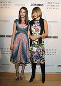 Anna Wintour and daughter Bee Schaffer at the Mondrian in L.A. tonight for an event honoring British designers
