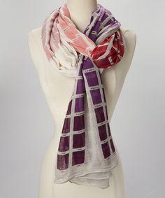 Purple Pantone Scarf by Persaman