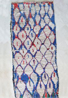 Moroccan rug on Etsy! https://www.etsy.com/listing/171349727/the-peacock-9x4-rug-moroccan